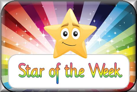 printable star of the day certificates newsletter friday 25th novemeber 2016 barry island