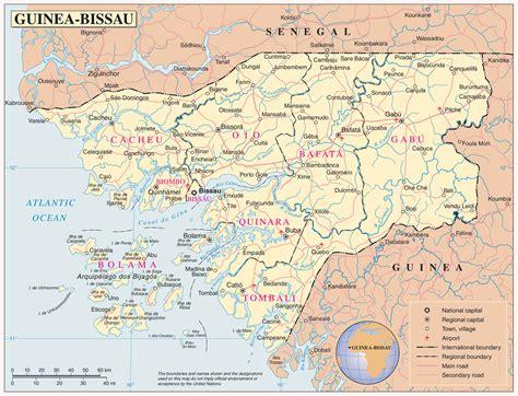 guinea bissau political map full political map of guinea bissau guinea bissau full