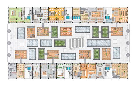 holland hall floor plan futuristic food shopping market hall by mvrdv in