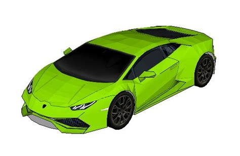 How To Make A Paper Lamborghini - papercraftsquare new paper craft lamborghini hurac 225 n