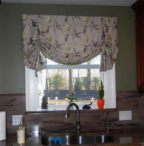 Houzz Kitchen Curtains Drapes And Soft Treatments Traditional Kitchen Boston By Shades In Place