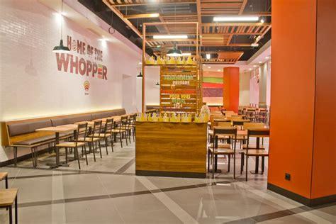 10 X 10 Kitchen Designs burger king launches subtle new interior design