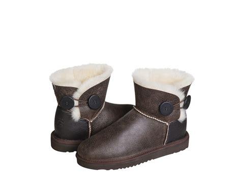 Handmade In Australia - quot australian ugg original quot nappa button mini ugg boots