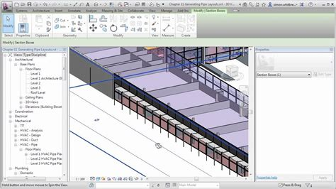 tutorial español revit mep revit mep 2013 tutorial generating pipe layouts youtube