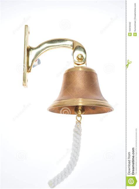 Bell For Door by Brass Door Bell Stock Photography Image 18416442