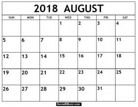 Calendar July 2018 August 2018 Calendar Printable Template With Holidays Pdf