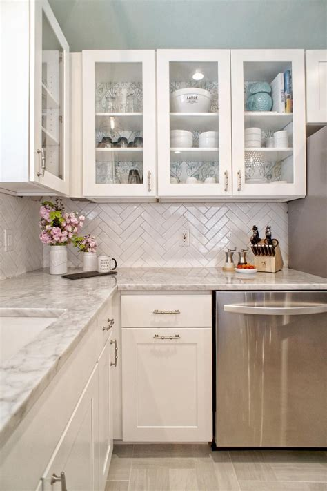 kitchen backsplashes with white cabinets our 25 most pinned photos of 2016 home