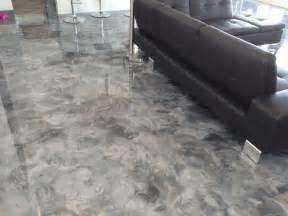epoxy floors in homes leggari 2013 parade of homes metallic epoxy flooring