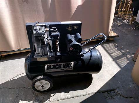 lot 48 coleman black max portable black air compressor wirebids