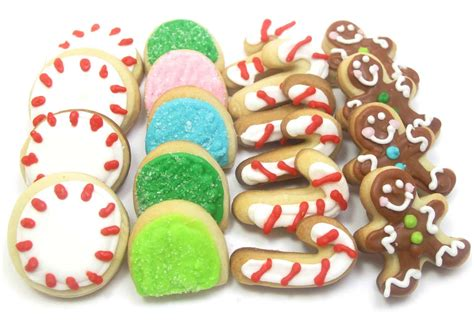 mini christmas candy cookies the decorated cookie