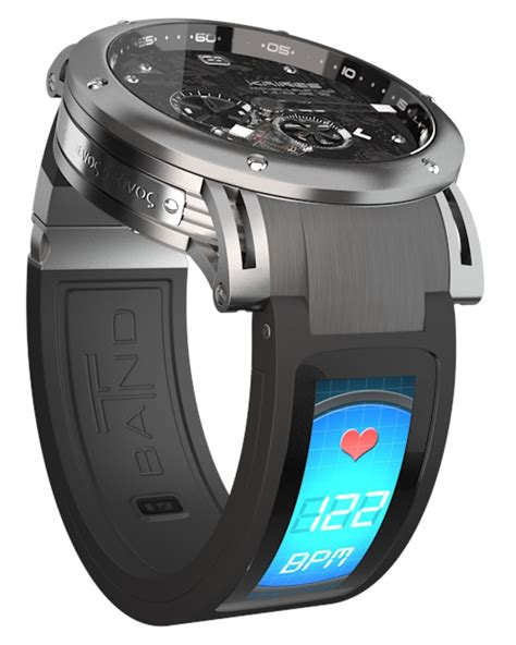 Smartwatch Band Zero559 kairos t band with screen turns any into a smartwatch ablogtowatch