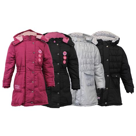Hello Jacket coat jacket hello disney padded hooded quilted lined winter new ebay
