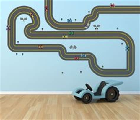 Wall Sticker Cars Track Xy1160 wall decals race track decal wall decals vinyl wall decal trees signs
