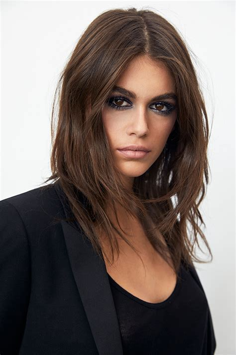 kaia gerber ysl kaia gerber for ysl beauty see first caign images for
