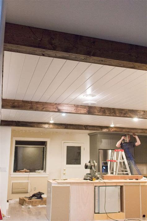 Diy Wood Beam Ceiling by Hewn Beams Design And The Edge On
