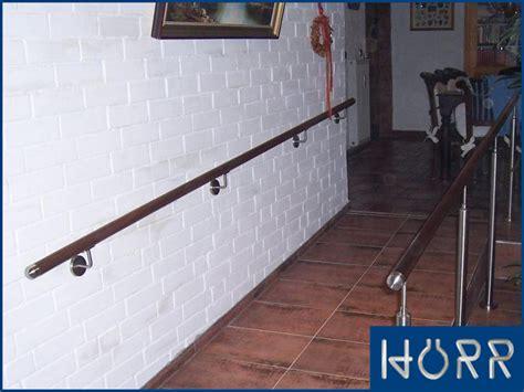 treppe handlauf holz holz edelstahl handlauf wandhandlauf gel 228 nder treppe v2a