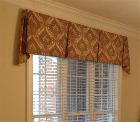 How To Make A Tailored Valance accents on windows tailored valances
