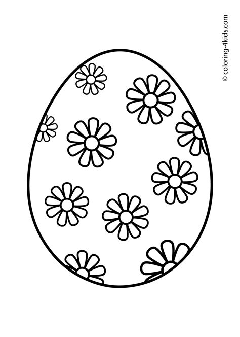 size of coloring pages kidsprintable easter printable