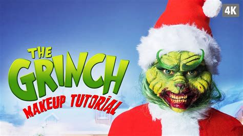 zombie grinch tutorial the grinch sfx makeup tutorial youtube