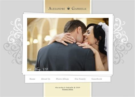 Wedding Address Website by Cr 233 Er Un Site Pour Mariage Mademoiselle