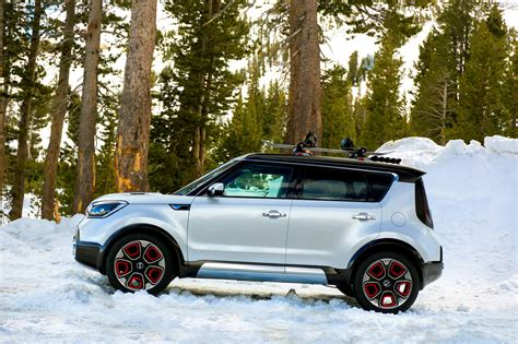 Kia Soul 4 Wheel Drive Photos Kia Soul 4wd Hybrid Trailster Concept 2016 From