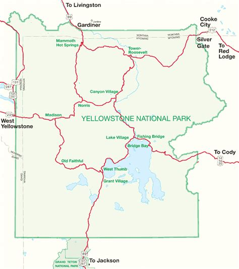 yellowstone lodging map yellowstone hotels and lodges