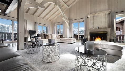 Luxury Ski Chalet Tobenjofi   Hall of Homes