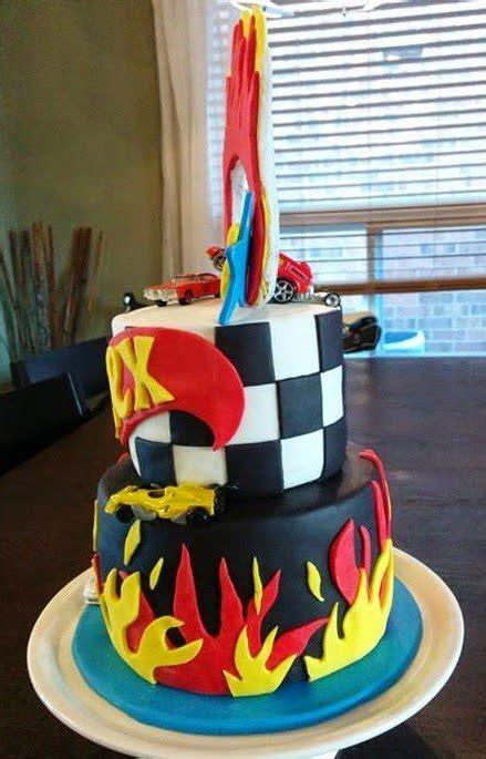hot wheels themed birthday cake ring  fire cake magic maple leaf mommy