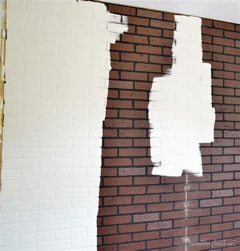 how to paint a faux brick wall faux brick bricks and faux brick walls on