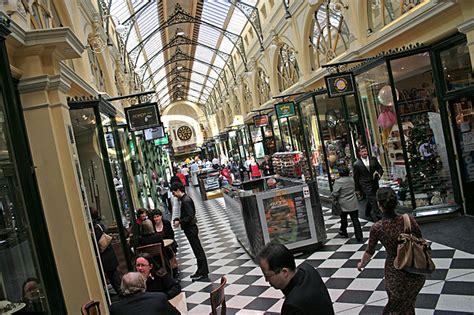 Shops Melbourne by Interior Of The Royal Arcade Melbourne Australia