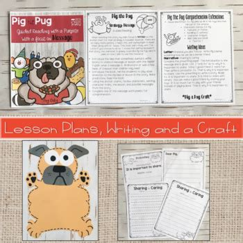 pig the pug teaching notes pig the pug mini unit by grade roars teachers pay