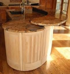 how much overhang for kitchen island two level island with overhang home