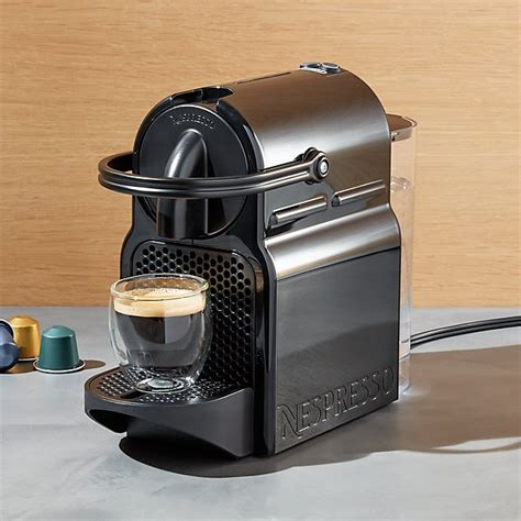 nespresso 174 by delonghi inissia original line espresso maker crate and barrel