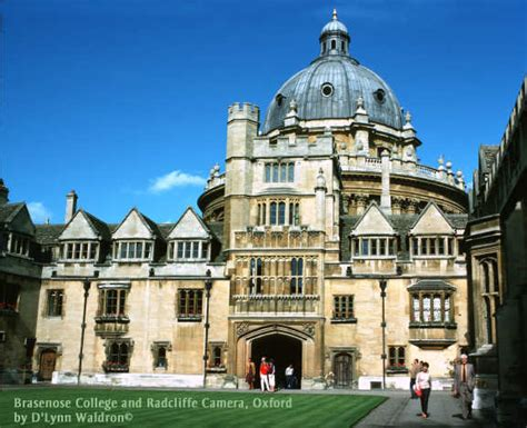 oxford and colleges a view from the radcliffe library classic reprint books brasenose college radcliffe oxford by d
