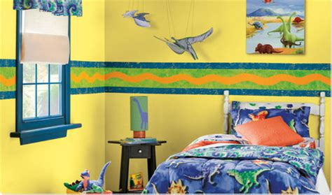 bedroom borders for boys red yellow orange themes border town boy s bedroom