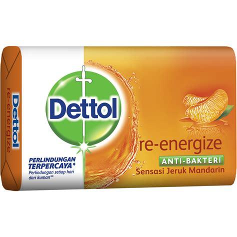 Dettol Sabun Mandi Batang 105g dettol anti bacterial reenergize bar soap dettol