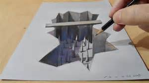 free 3d drawing drawing a trap how to draw trap trick draw 3d