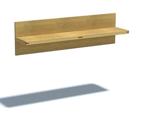 wooden wall shelf 3d model cgtrader