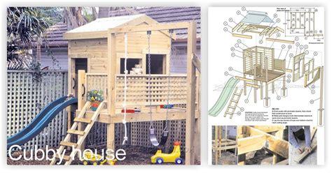 Backyard Playhouse Plan by Backyard Playhouse Plans Woodarchivist
