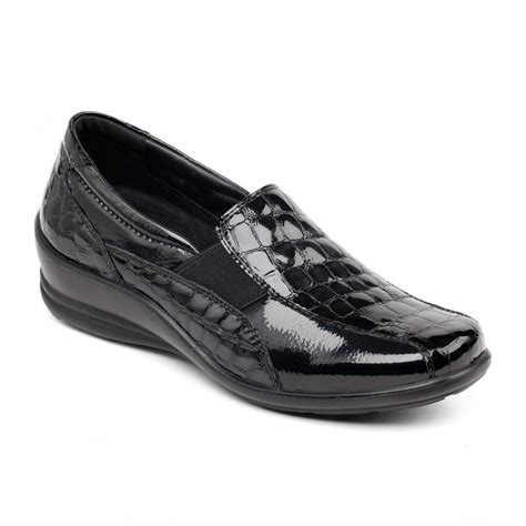 padders s black croc shoes free returns at