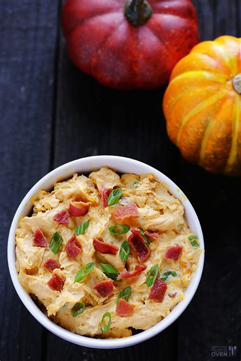 savory pumpkin dip gimme some oven