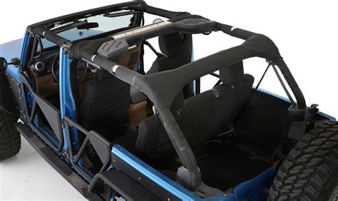 Jeep Roll Bar Padding Smittybilt 5666201 Roll Bar Padding Cover Kit With Molle