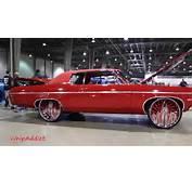 WhipAddict 70 Chevy Impala SS 454 On DUB FU 26s At The Queen City