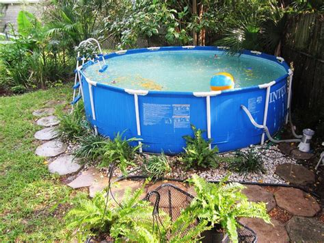 Above Ground Pool Backyard Landscaping Ideas by Pool Backyard Ideas With Above Ground Pools Fence