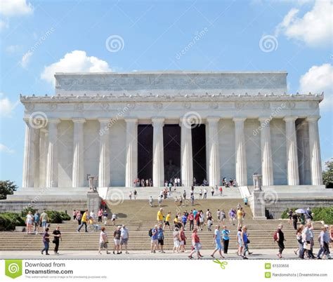 where is the lincoln memorial located in washington dc lincoln memorial editorial photo image 61533656
