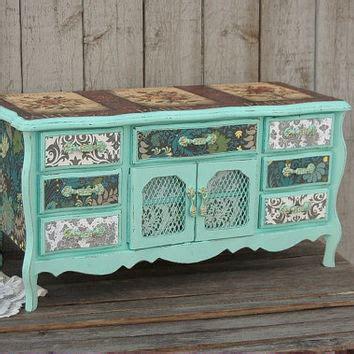 shabby chic jewelry box best decoupage jewelry boxes products on wanelo
