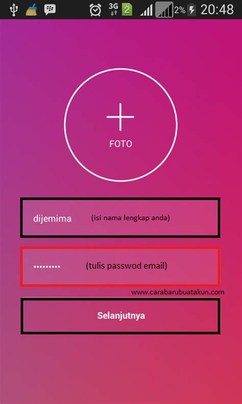 cara membuat kartu nama di hp android terbaru 2017 cara daftar buat akun instagram login di hp