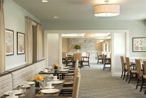 Assisted Living Dining Room by Waters Of Edina Rlh Studio Minneapolis Mn Interior