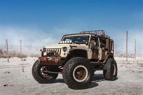 starwood motors jeep white this starwood motors sema jeep is king of the mountain
