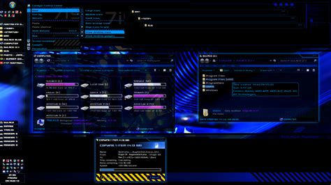 themes for windows 7 blue sulaco visual style v0 15 blue windows 7 theme by nostro
